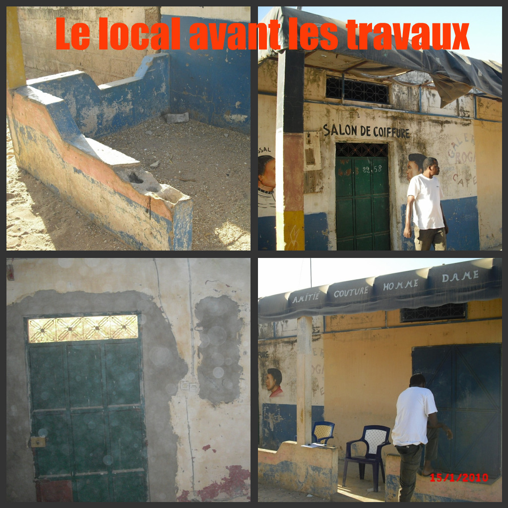 local avant travaux